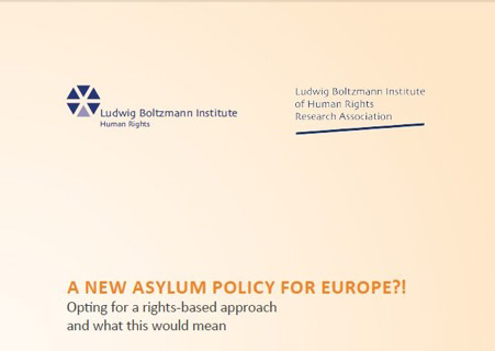 A new Asylum Policy for Europe